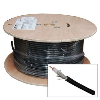 Dynamix C-RG6-152 BK 152m Shielded Cable Roll Black