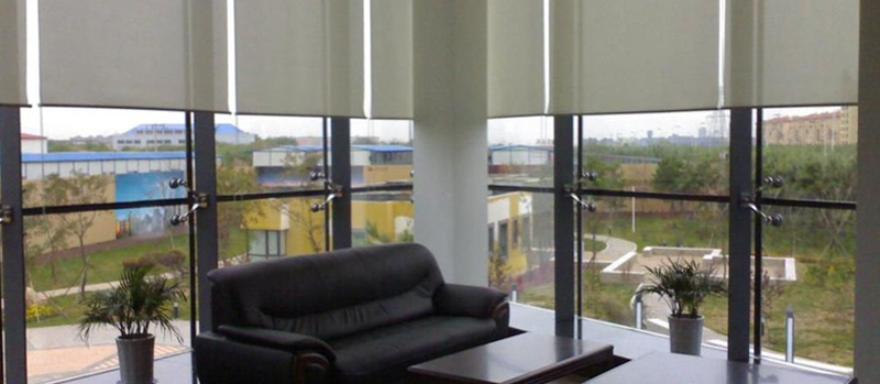 Office Motorised Roller Blinds