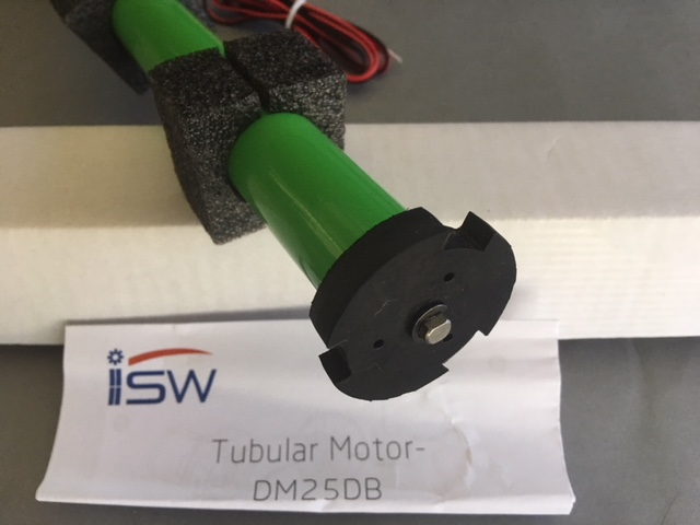 Isw 25db 1 1 40 24v Dc Tubular Motor And Z Wave Control