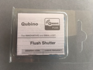 Qubino Flush Shutter Z Wave Plus Controller Motorised