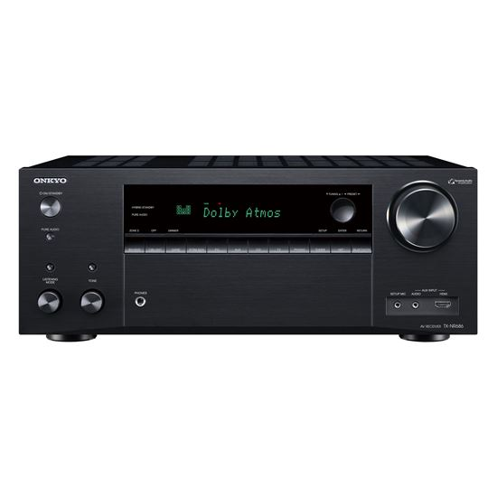 ONKYO TX NR686B 7.2 Channel Network AV  Receiver