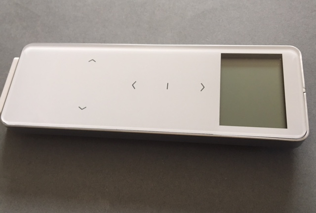 Dc1702 15 Channel Touchable Led Remote Motorised