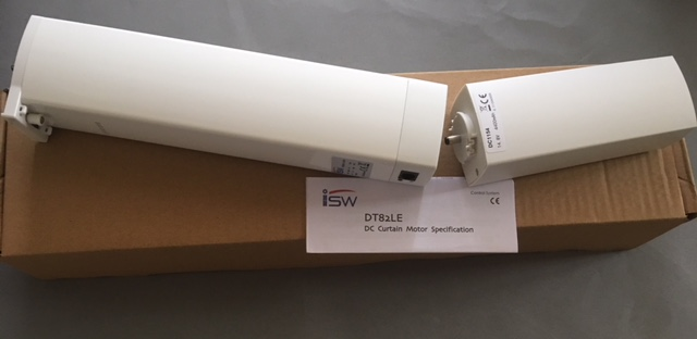 iSW DT82LE-1.2/20 Built in Li ion battery powered curtain motor