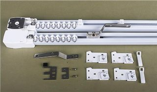 Whole Set Of Motorised Curtain Track Curtain Motor And 3