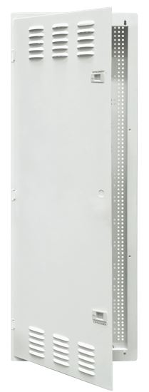 DYNAMIX 42' FTTH Network Enclosure Recessed Wall Mount With Vented Door