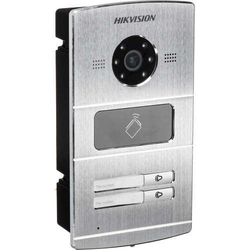 Hikvision DS-KV8202-IM VIDEO INTERCOM 2 BUTTON METAL VILLA DOOR STATION