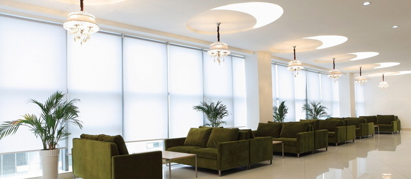 Motorised Roller Blinds Can Be Used In Public Buildings Like Offices Convention Centers Etc As Well 5 Star Hotels And Apartments